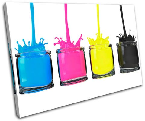 CMYK Paint Pots Abstract - 13-1130(00B)-SG32-LO